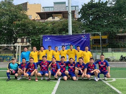 CHÍNH THỨC KHAI MẠC GIẢI BÓNG ĐÁ BV CUP 2020