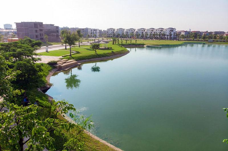 Khu đô thị Bách Việt gấp rút hoàn thiện các hạng mục cuối cùng