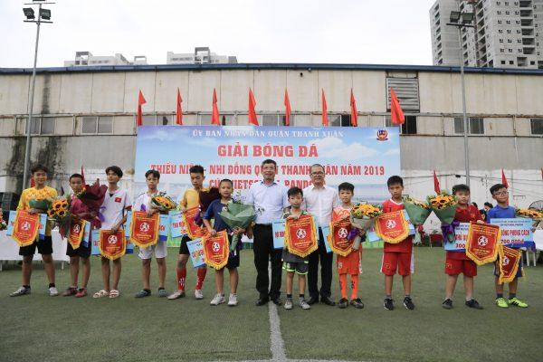 Chung kết Giải bóng đá Thiếu niên – Nhi đồng Quận Thanh Xuân – Cúp Vietschool Pandora